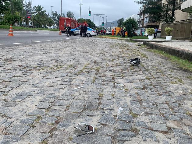 Ciclista morre atropelado e motorista foge no Rio de Janeiro