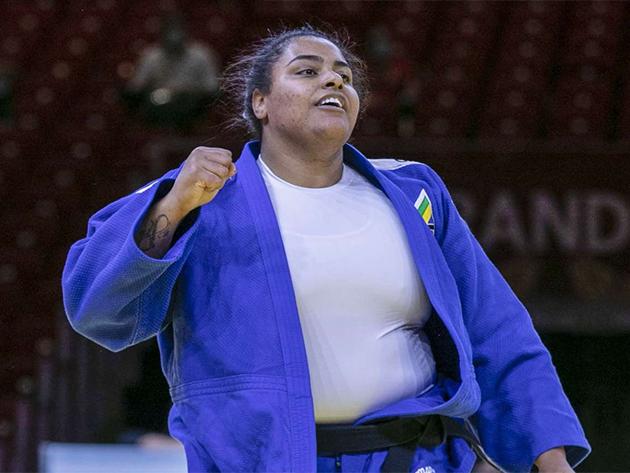 Maria Suelen conquista o bronze no Grand Slam de Tel Aviv