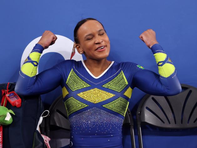 """""""Sempre vi a minha história como um processo de superação"""", diz Rebeca Andrade"""