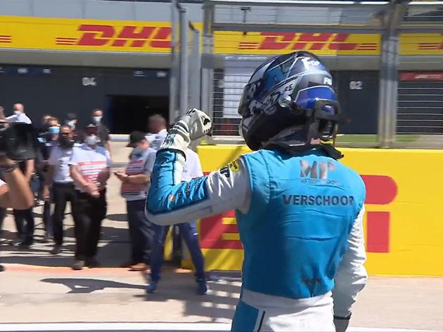 Verschoor vence segunda prova da F2 em Silverstone; Drugovich termina em sétimo