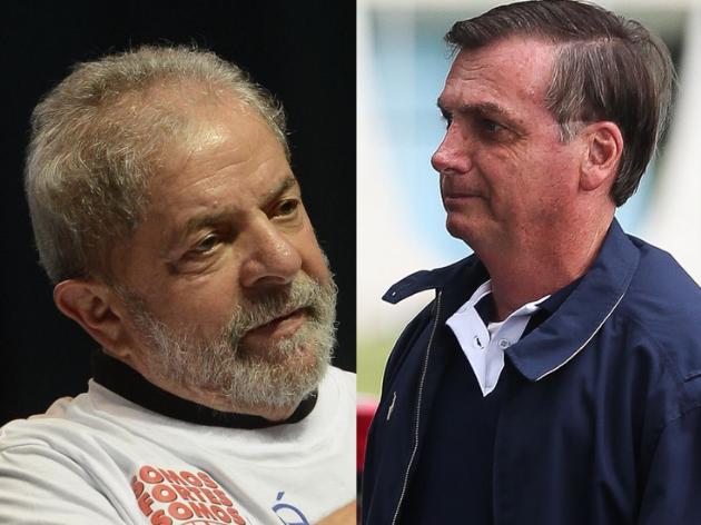 Lula venceria Bolsonaro se eleição presidencial fosse hoje