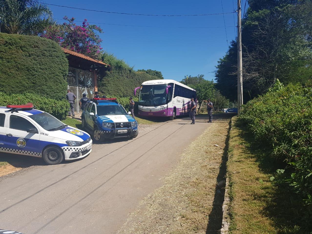 Guarda Municipal impede realização de festa clandestina em São Roque-SP