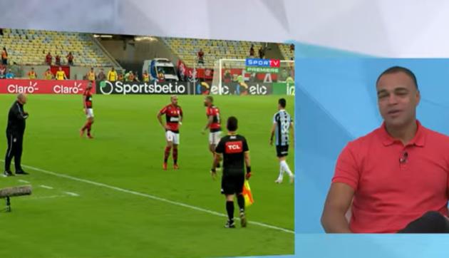 """""""Felipão é campeão do mundo e merece respeito"""", diz Denílson sobre Gabigol"""