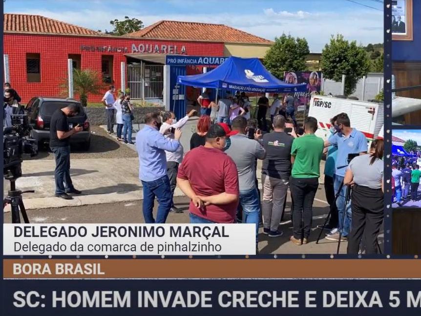 Chacina em SC: Homem que atacou creche ameaçou bombeiros durante o resgate