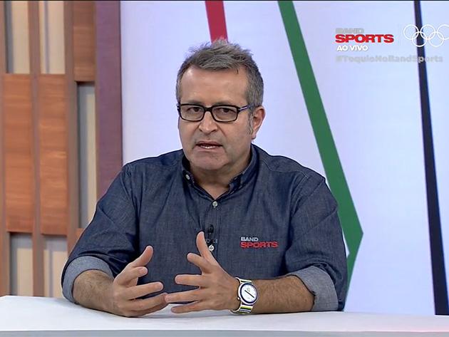 Comentarista do Bandsports detonou a participação de quarteto brasileiro nos Jogos de Tóquio