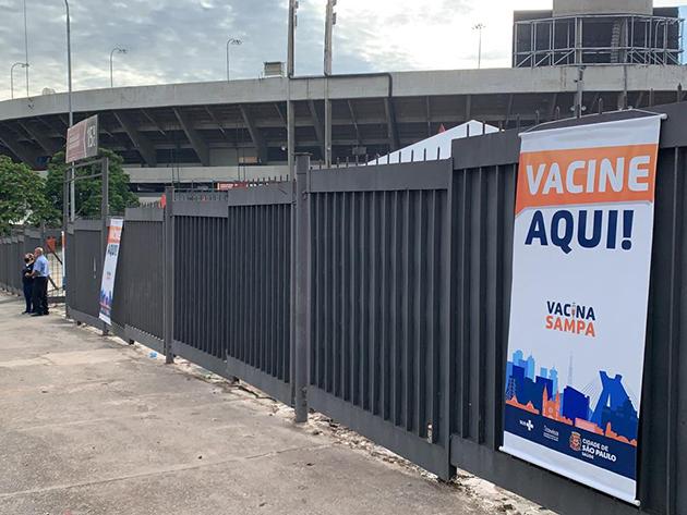 São Paulo abre dois novos pontos de vacinação drive-thru