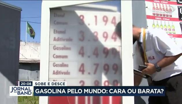 Gasolina cara? Veja como o preço do combustível varia pelo mundo