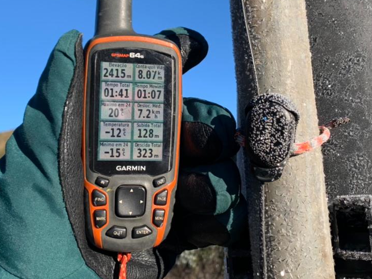 Termômetro para de funcionar no RJ após registrar temperaturas negativas
