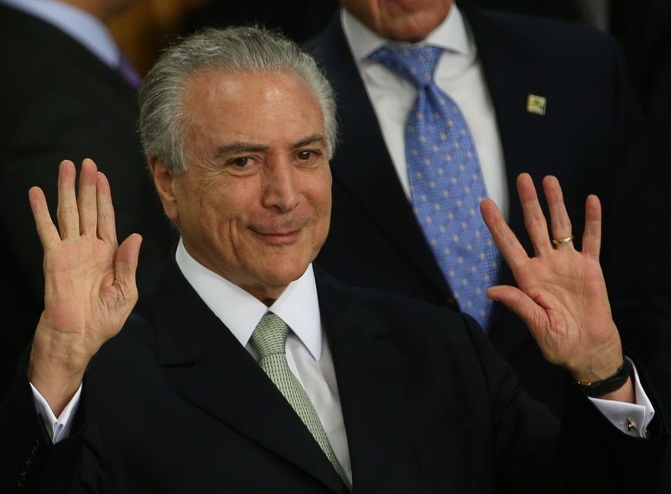 """Michel Temer é absolvido na acusação do """"quadrilhão do MDB"""""""