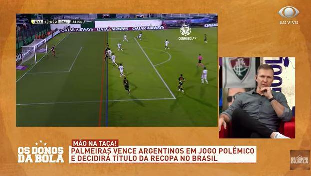 Palmeiras ajudado? Donos discute gol anulado do Defensa y Justicia