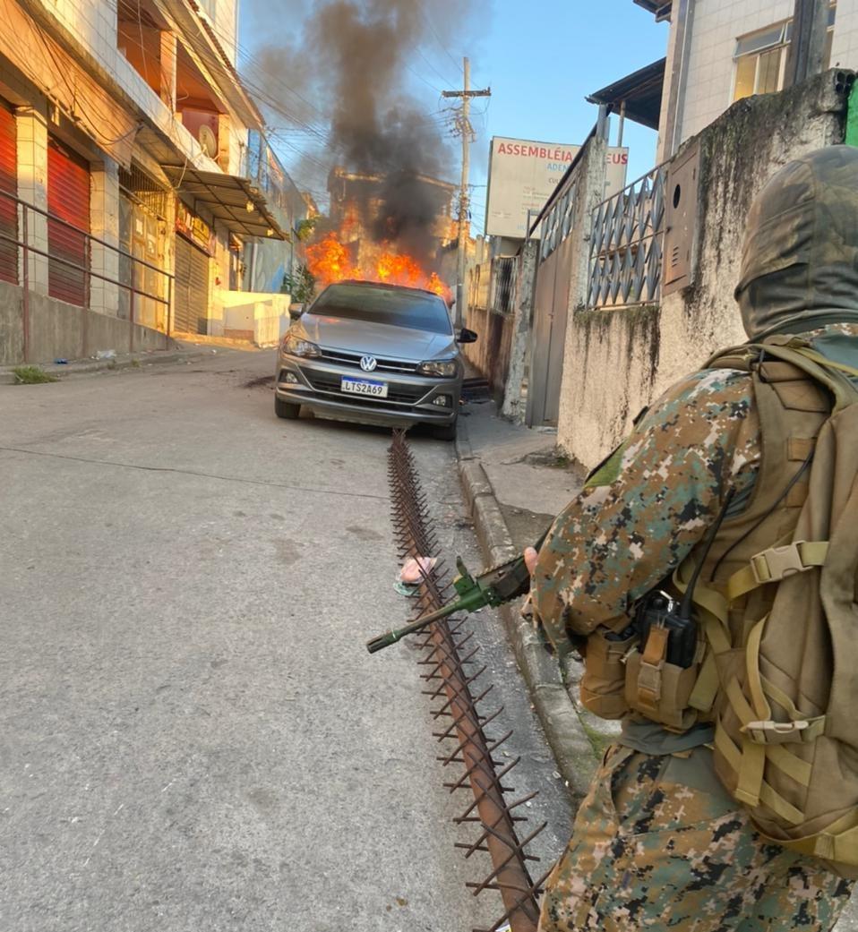 Polícia do Rio faz operação contra traficantes do AM e PA