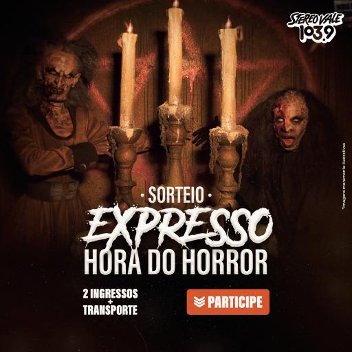 """Regulamento: Promoção """"Hora do Horror com a Stereo Vale"""""""