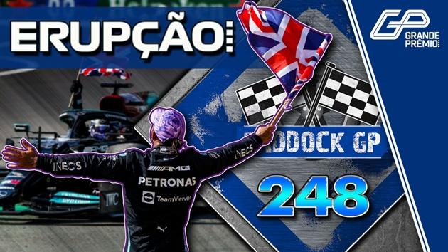 AO VIVO: F1 em pé de guerra com batida entre Hamilton e Verstappen; assista no Paddock GP