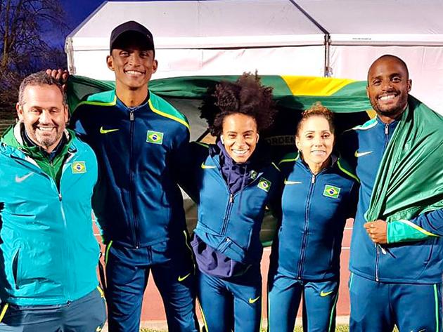 Equipe mista do Brasil é prata no Mundial de Revezamentos