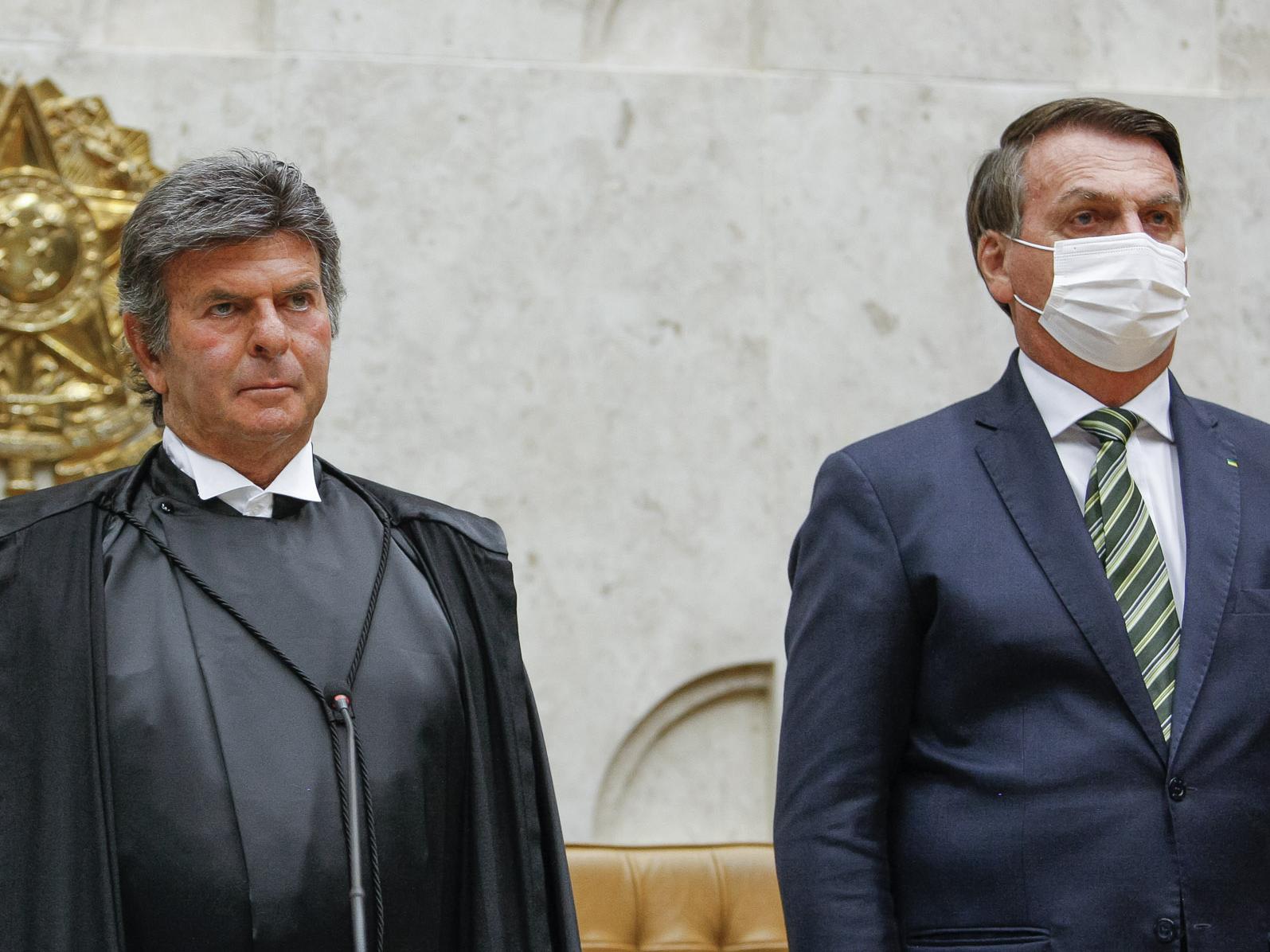 Fux vai dar recado a Bolsonaro sobre 'limites' em discurso de retorno do STF