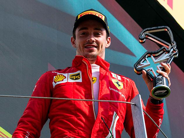 """""""Nós não esperávamos isso"""", diz Leclerc após batalha pela vitória em Silverstone"""