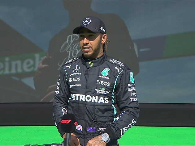 "Hamilton destaca erro de Verstappen e comemora ""grande corrida"" em Portugal"