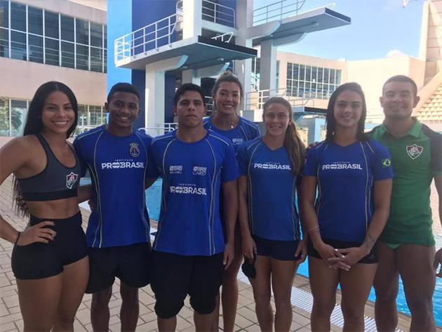 Seletiva define equipe brasileira para Pré-Olímpico de saltos ornamentais