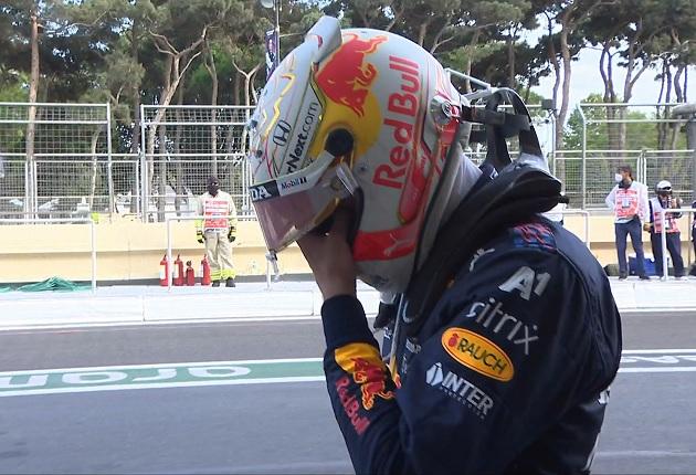 """""""Saio desapontado, era uma vitória fácil hoje"""", diz Verstappen"""