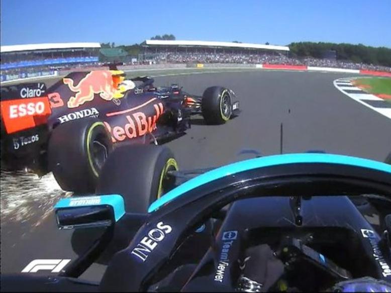 F1: GP da Grã-Bretanha tem batida forte de Verstappen; assista