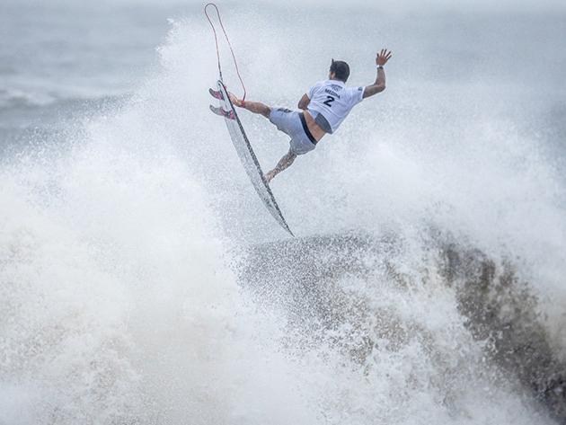 Surfe: Medina é desbancado por australiano e perde medalha de bronze