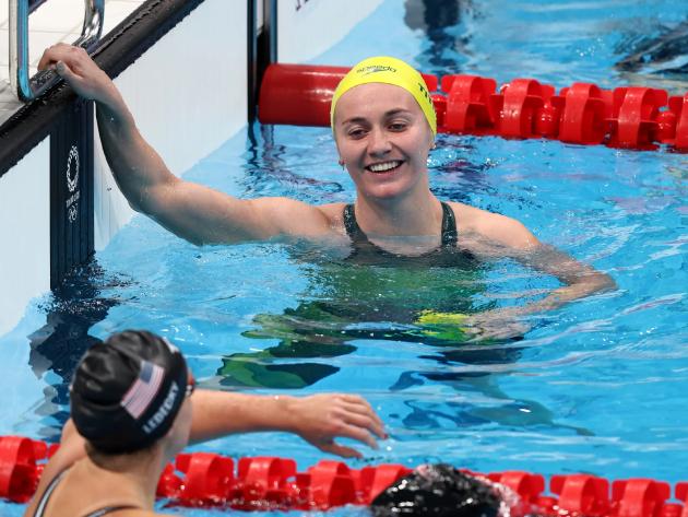Após brilhar nos 400m livre, australiana também venceu os 200m livre