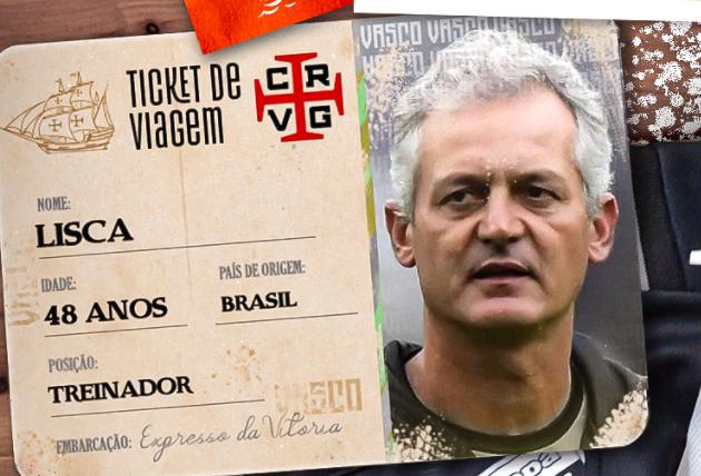 Vasco confirma contratação do técnico Lisca