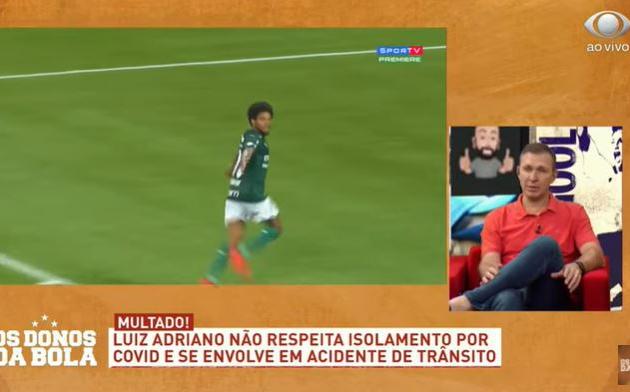 """Velloso pede afastamento de Luiz Adriano: """"Não dá para aliviar numa situação dessa"""""""