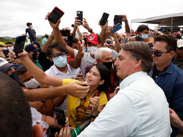 Pesquisa PoderData/Band mostra queda na reprovação ao governo Bolsonaro