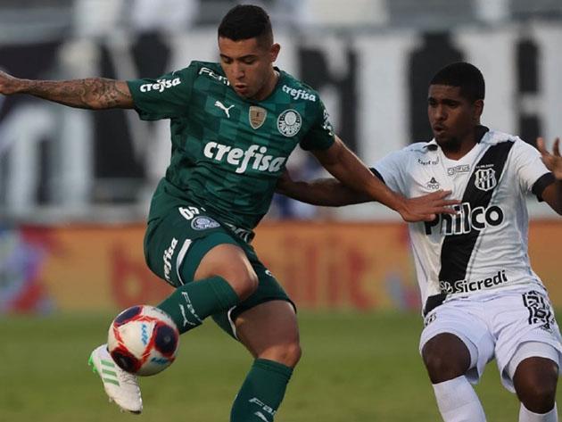 Pedro Bicalho é um dos jovens destaques do Palmeiras