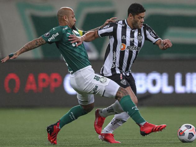 Atlético-MG e Palmeiras decidem vaga na final da Libertadores