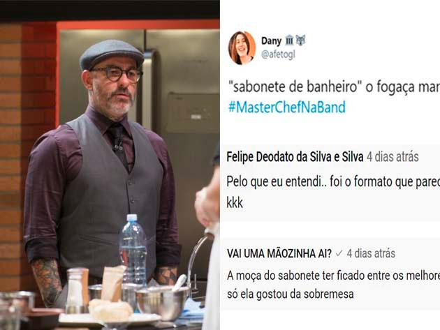 Fogaça compara doce do MasterChef a sabonete de banheiro e divide opiniões na web; veja reações