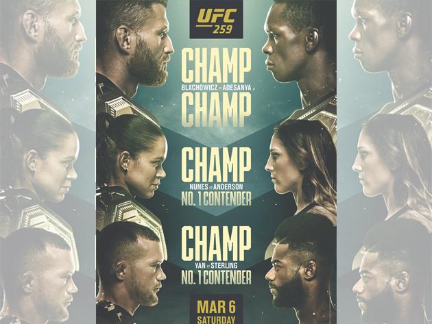 O que esperar do UFC 259