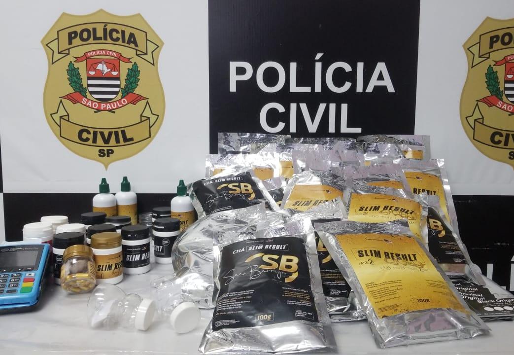 Polícia Civil realiza operação contra venda ilegal de medicamentos em São José dos Campos