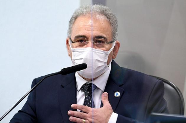 Marcelo Queiroga afirma que Brasil terá dificuldade com vacinas a partir de julho