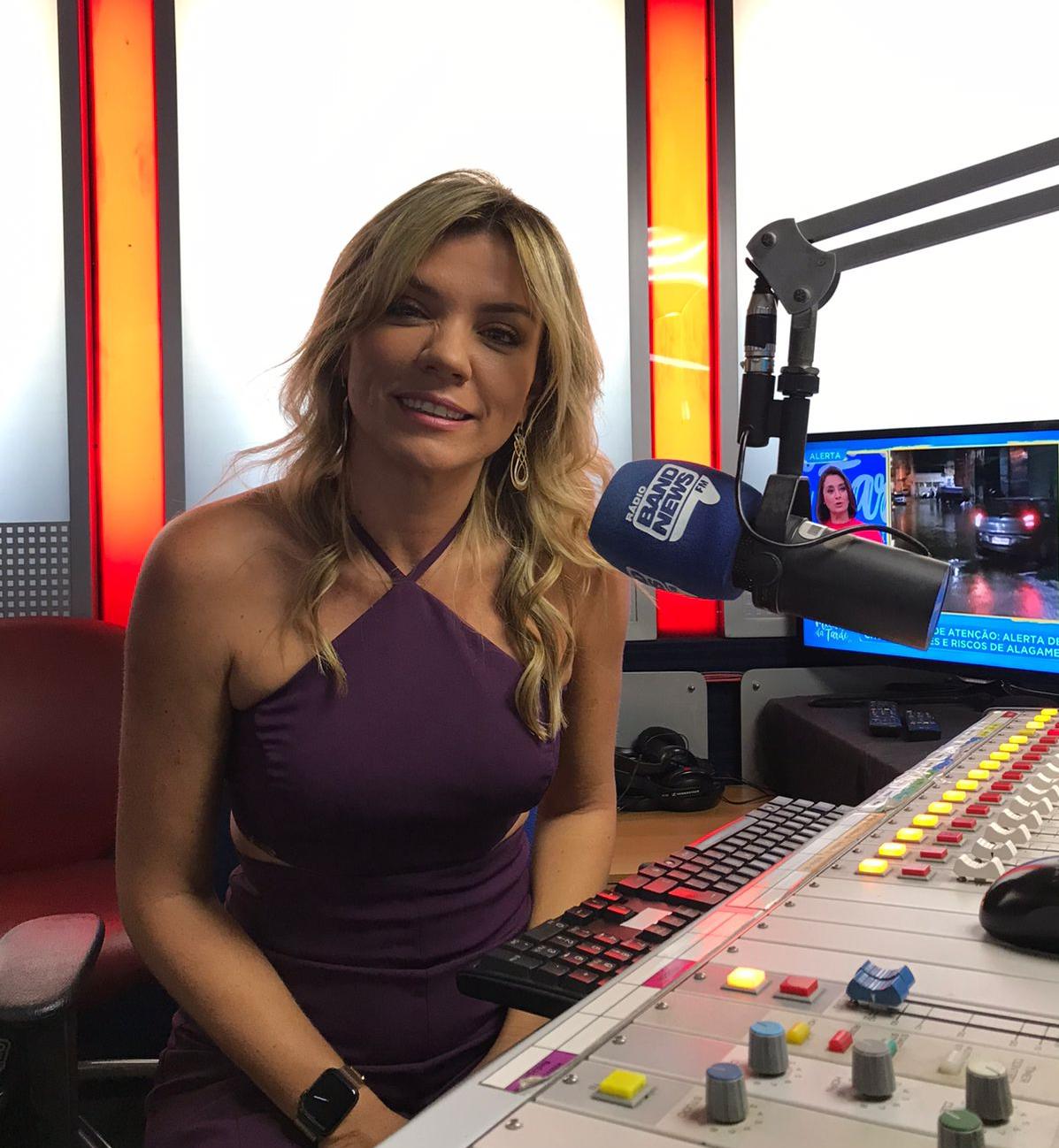 Marília Ruiz reforça equipe de esportes da BandNews FM