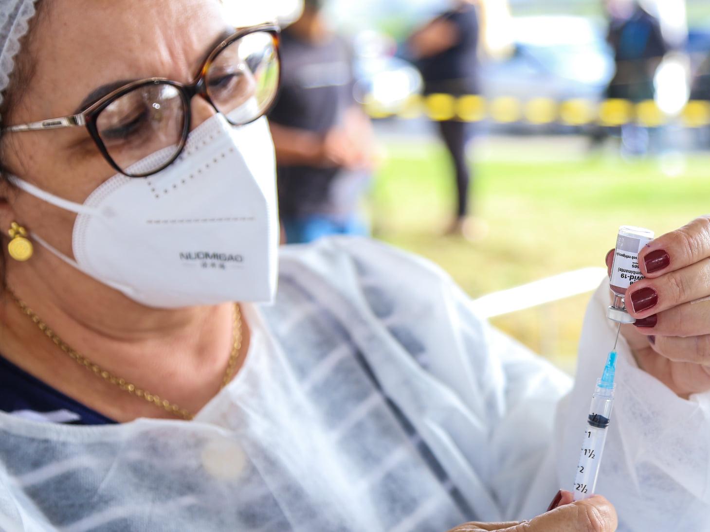 Imunização contra Covid acontece neste sábado e domingo