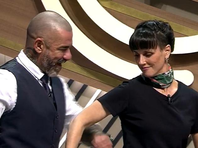 Helena Rizzo, Fogaça e Jacquin fazem dancinha ao som de Duda Beat no MasterChef