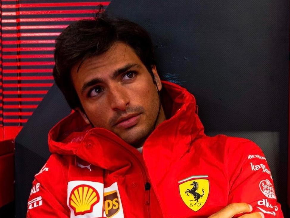 F1: Sainz mira título mundial e não quer ser segundo piloto da Ferrari