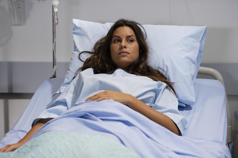 Nazaré passa mal e é levada ao hospital