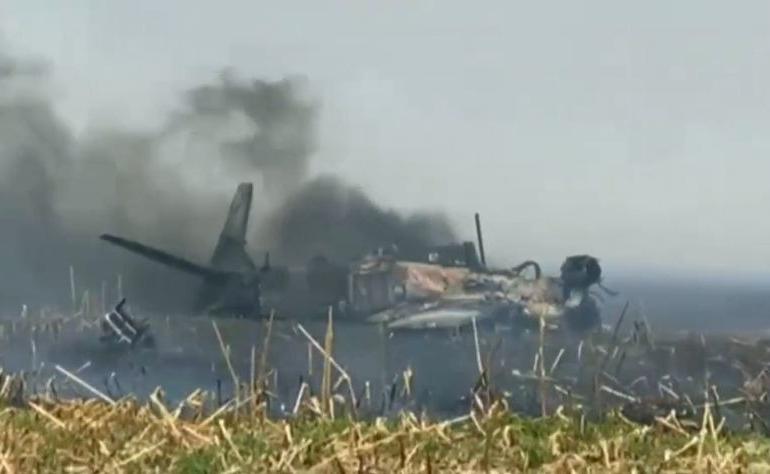 Avião de caça da FAB cai em Campo Grande (MS)