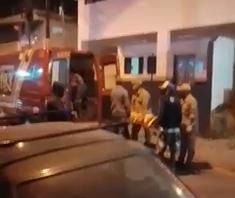 Um dos baleados não resistiu e morreu no hospital