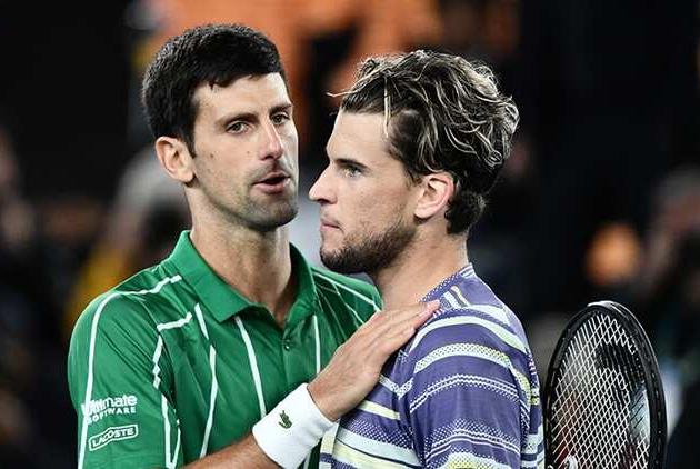 """Thiem: """"Djokovic não vai desperdiçar a chance de completar o Grand Slam"""""""
