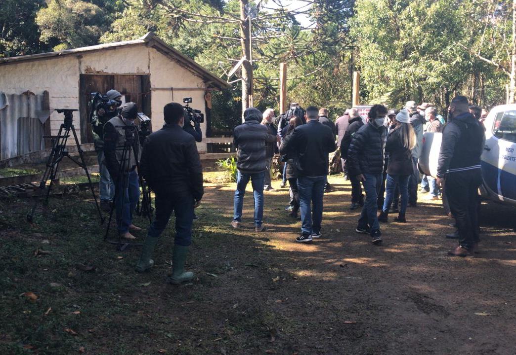 Caso Marco Aurélio: Polícia inicia escavações em busca do escoteiro desaparecido há 36 anos