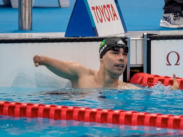 Com ouro de Bandeira e 25ª medalha de Daniel Dias, Brasil começa Paralimpíada com quatro pódios
