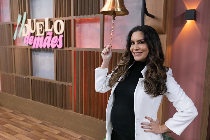 Ticiana Villas Boas retorna à Band em uma competição emocionante entre famosos e mães