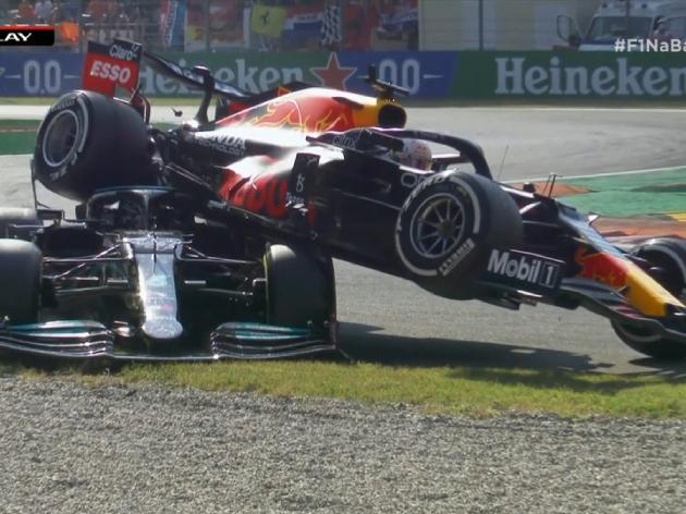 F1: Hamilton e Verstappen batem, abandonam prova e Ricciardo vence o GP da Itália; veja os destaques