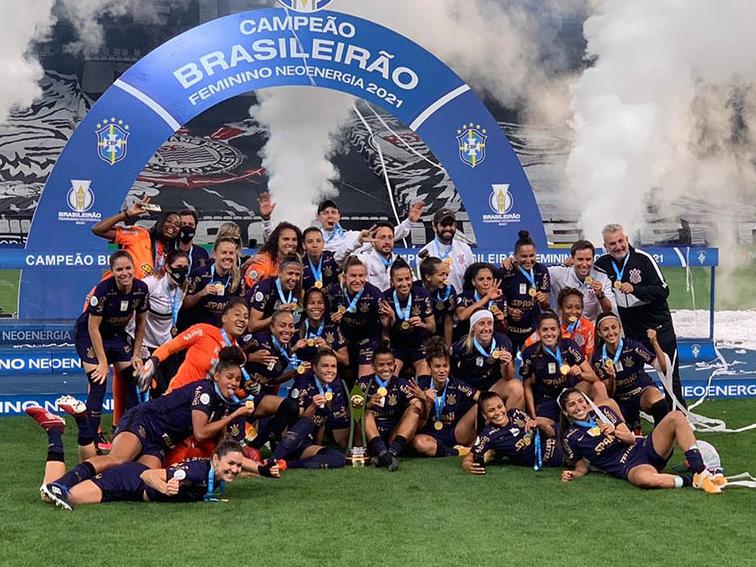 Corinthians conquista tricampeonato do Brasileiro Feminino