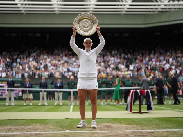 """Barty celebra realização de sonho em Wimbledon: """"Melhor do que jamais poderia ter imaginado"""""""