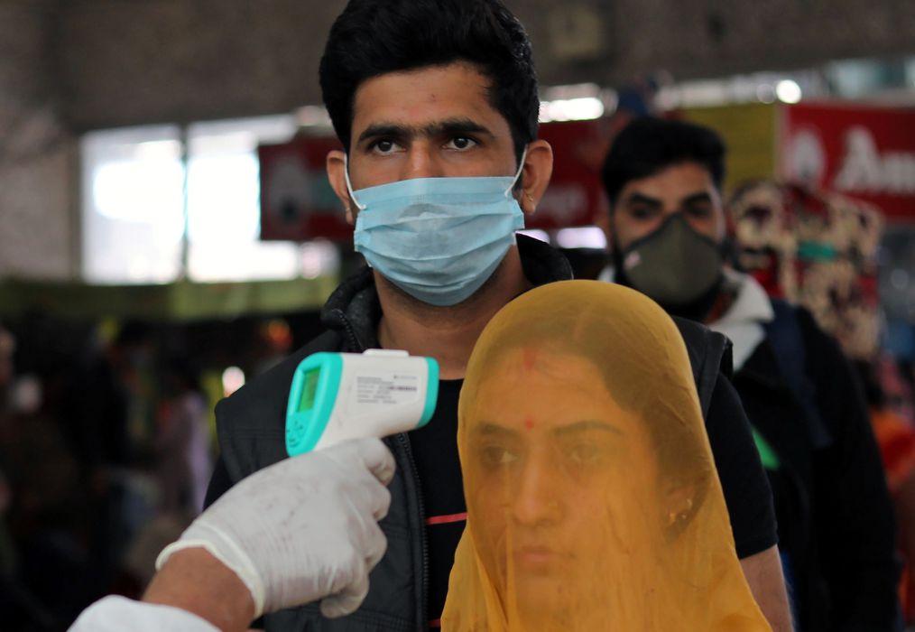 A Índia registrou mais de 6 mil mortes por Covid-19 apenas na última quarta-feira